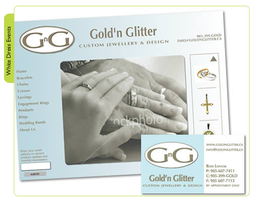 Gold'n Glitter Custom Jewellery
